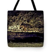 Shipwreck Tote Bag by Tom Prendergast