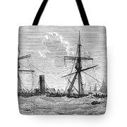 Shipwrecks, 1875 Tote Bag by Granger
