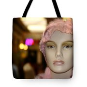 Shopping Girl Tote Bag by Henrik Lehnerer