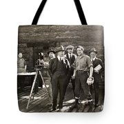 SILENT FILM SET, c1925 Tote Bag by Granger