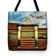 Silk City Lounge Tote Bag by Bill Cannon