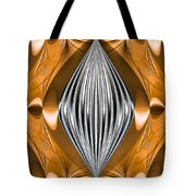 Silver Marquise Engagement Tote Bag by Kristin Elmquist