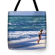Sister Fun Tote Bag by Patrick M Lynch