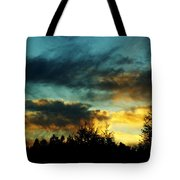 Sky Attitude Tote Bag by Aimelle