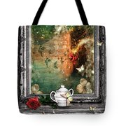Sleeping Beauty Tote Bag by Mo T
