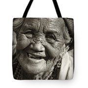 Smile Tote Bag by Skip Nall