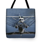 Smoooth Landing Tote Bag by David Kehrli