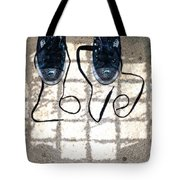 Sneaker Love 1 Tote Bag by Paul Ward