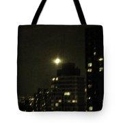 Snow Moon Tote Bag by Madeline Ellis