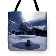 Snow Mountain Austria  Tote Bag by Colette V Hera  Guggenheim