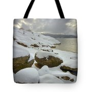 Snowcapped Tote Bag by Idaho Scenic Images Linda Lantzy