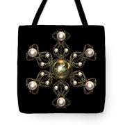 Snowflake Jewel Tote Bag by Hakon Soreide