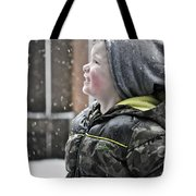Snowflake Thoughts Tote Bag by Gwyn Newcombe