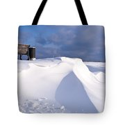 Snowy Day Tote Bag by Heiko Koehrer-Wagner