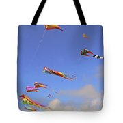 Soaring With The Clouds Tote Bag by Pamela Patch
