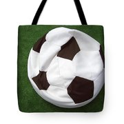 Soccer Ball Seat Cushion Tote Bag by Matthias Hauser