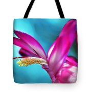Soft And Delicate Cactus Bloom 3 Tote Bag by Kaye Menner