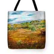 Somewhere In September Tote Bag by Brett Pfister