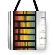Spectra Chart, Blood Samples, 1894 Tote Bag by Science Source