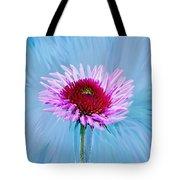 Spin Me Tote Bag by Linda Sannuti