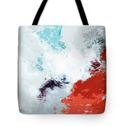 Splash Tote Bag by Glennis Siverson