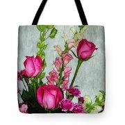 Spray of Flowers Tote Bag by Judi Bagwell