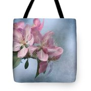 Spring Blossoms For The Cure Tote Bag by Kim Hojnacki