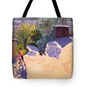 Spring In Cyprus Tote Bag by Andrew Macara