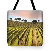 Spring Vineyard Tote Bag by Sharon Foster