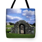 St Brigids Church, Inis Cealtra Holy Tote Bag by The Irish Image Collection