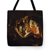 St. Sebastian Tended By Irene Tote Bag by Georges de la Tour