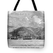 ST. THOMAS, 1844 Tote Bag by Granger