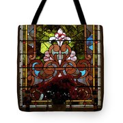 Stained Glass Lc 17 Tote Bag by Thomas Woolworth
