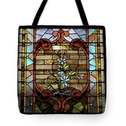 Stained Glass Lc 18 Tote Bag by Thomas Woolworth