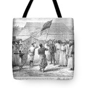 Stanley And Livingstone Tote Bag by Granger