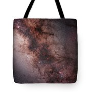 Stars, Nebulae And Dust Clouds Tote Bag by Philip Hart