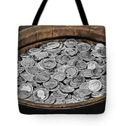 State Treasure Fortress Koenigstein - Saxonia - Germany Tote Bag by Christine Till