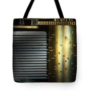 Steampunk - Gears - Music Machine Tote Bag by Mike Savad