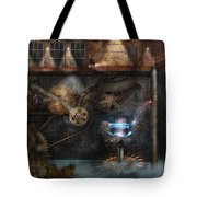 Steampunk - Industrial Society Tote Bag by Mike Savad
