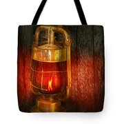 Steampunk - Red Light District Tote Bag by Mike Savad