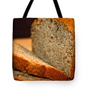 Steamy Fresh Banana Bread Tote Bag by Susan Herber