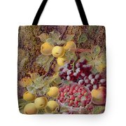 Still Life With Fruit Tote Bag by Oliver Clare