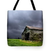 Stormy Barn Tote Bag by Cale Best