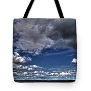Stormy Clouds ... Tote Bag by Juergen Weiss
