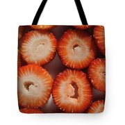 Strawberry Bliss Tote Bag by Luke Moore