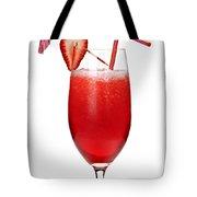 Strawberry Daiquiri Tote Bag by Elena Elisseeva
