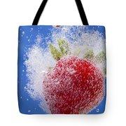 Strawberry Soda Dunk 1 Tote Bag by John Brueske