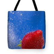 Strawberry Soda Dunk 4 Tote Bag by John Brueske