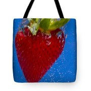 Strawberry Soda Dunk 7 Tote Bag by John Brueske