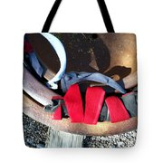 Streets Of Tucson 90 Tote Bag by Marlene Burns